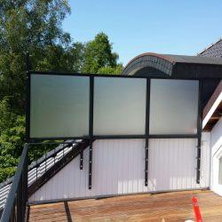 Balkon-Sichtschutzwand